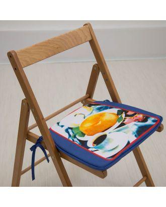 Подушка на стул «Утренний кофе», 41 х 36 х 3 см арт. СМЛ-2574-1-СМЛ2057148
