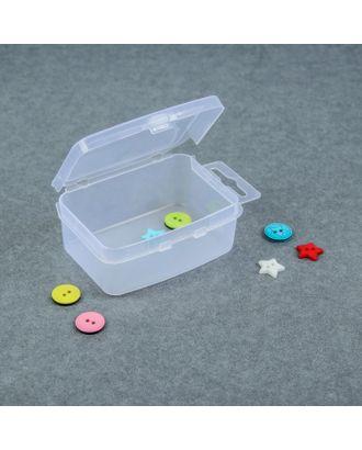 Контейнер для хранения мелочей, 9х5,5х3 см, цв.прозрачный арт. СМЛ-2609-1-СМЛ2059781