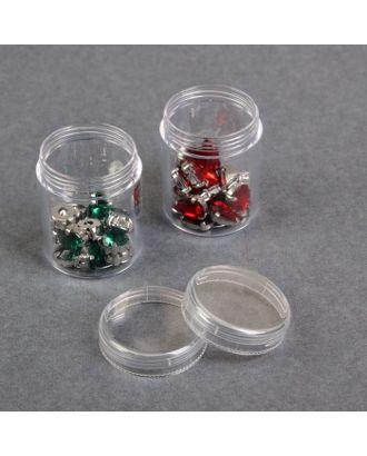 Баночки для хранения мелочей, d = 3,9х5 см, 20 гр, 2 шт арт. СМЛ-2647-1-СМЛ2067116