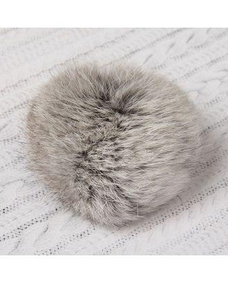 Помпон из натурального меха зайца д.8 см арт. СМЛ-23893-1-СМЛ2086753