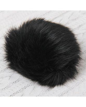 Помпон из натурального меха зайца д.8 см арт. СМЛ-23893-2-СМЛ2086761