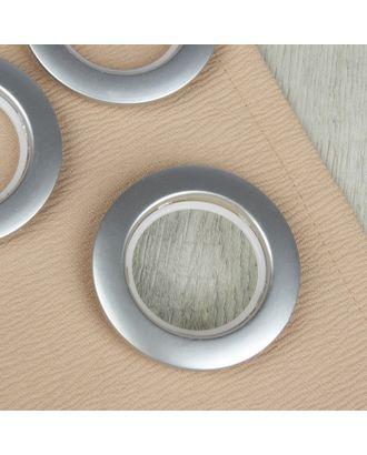 Люверсы для штор, d = 4,1/7,5 см, 10 шт арт. СМЛ-21157-1-СМЛ2088800
