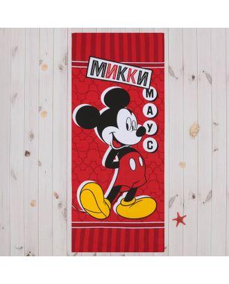 """Полотенце """"Микки Маус"""" 60х140 см, 100% хлопок 160гр/м2 арт. СМЛ-2897-1-СМЛ2088938"""