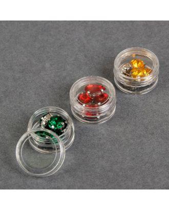 Баночки для хранения мелочей, d = 3,5х2 см, 5 гр, 3 шт арт. СМЛ-25779-1-СМЛ2108857