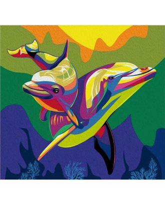 """Фреска """"Дельфин"""", А3 арт. СМЛ-3144-1-СМЛ2109188"""