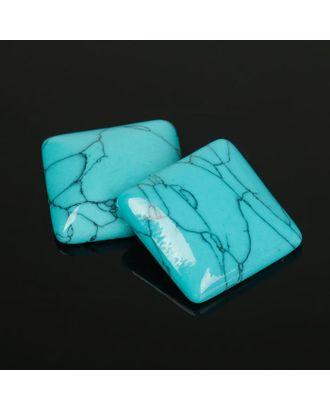 Кабошон квадрат р.2,5х2,5см арт. СМЛ-20060-14-СМЛ2167229
