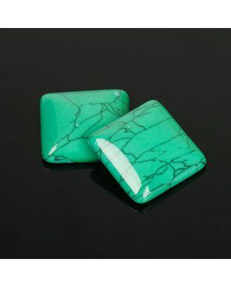 Кабошон квадрат р.2,5х2,5см арт. СМЛ-20060-2-СМЛ2167230