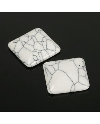 Кабошон квадрат р.2,5х2,5см арт. СМЛ-20060-3-СМЛ2167232