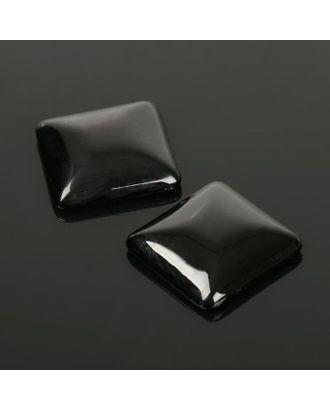 Кабошон квадрат р.2,5х2,5см арт. СМЛ-20060-12-СМЛ2167233