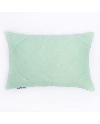 Подушка высокая 40*60см, зел., бамбуковое волокно/натур.латекс, микрофибра, пэ100% арт. СМЛ-19922-1-СМЛ2198215
