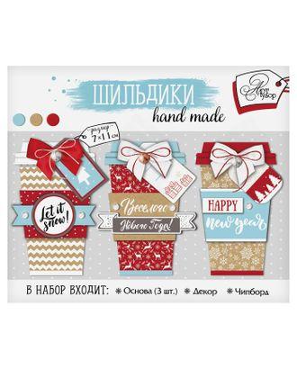 Шильдик с декором Let it snow, набор для создания, 11 × 13 см арт. СМЛ-3774-1-СМЛ2225922