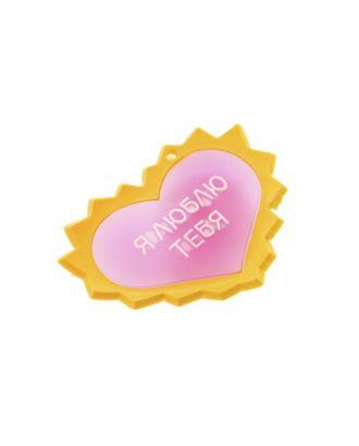 """Карнавальный значок световой """"Я люблю тебя"""" арт. СМЛ-3788-1-СМЛ0223664"""