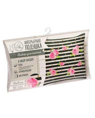 Интерьерная подушка «Весенний сад», набор для шитья, 26х15х2 см арт. СМЛ-4029-1-СМЛ2284866