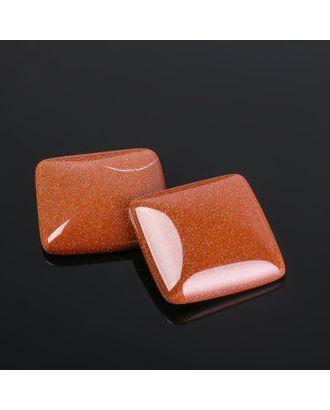 Кабошон квадрат р.2,5х2,5см арт. СМЛ-20060-6-СМЛ2308063