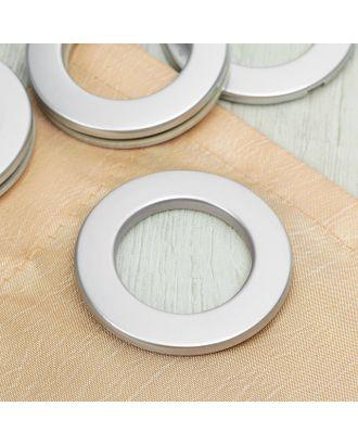 Люверсы для штор, d = 3,1/5,5 см, 10 шт, цвет коричневый арт. СМЛ-21156-3-СМЛ0002311342