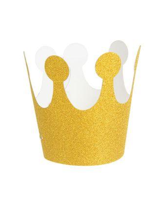 Карнавальная корона «Великолепие», на резинке, цвет серебряный арт. СМЛ-100696-2-СМЛ0002311663