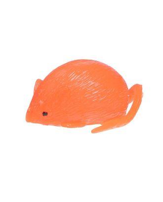 Мялка «Мышь», с водой, цвет белый арт. СМЛ-100622-2-СМЛ0002317267