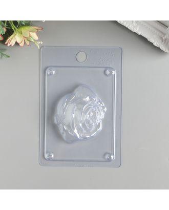 """Пластиковая форма для мыла """"Бутон розы"""" арт. СМЛ-36659-1-СМЛ0002334309"""
