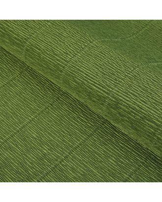 "Бумага гофрированная, ""Оливковый зелёный"" 17А/8, 0,5 х 2.5 м арт. СМЛ-33969-1-СМЛ2355766"