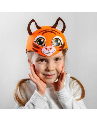 Карнавальная шляпа «Тигр», р-р. 52-54 арт. СМЛ-125441-1-СМЛ0002357283