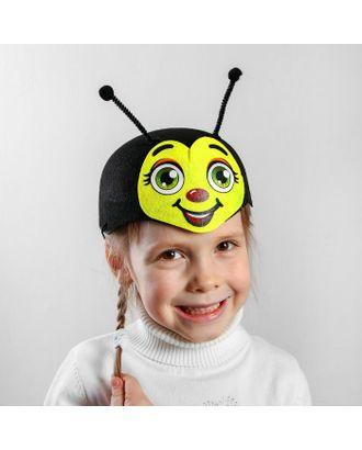 Карнавальная шляпа «Пчёлка», р-р. 52-54 арт. СМЛ-125442-1-СМЛ0002357286