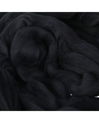 Гребенная лента 100% тонкая мериносовая шерсть 100гр (1575, стальной) арт. СМЛ-29428-3-СМЛ2372505