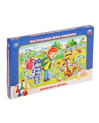 Настольная игра «Каникулы в простоквашино» арт. СМЛ-105547-1-СМЛ0002375733