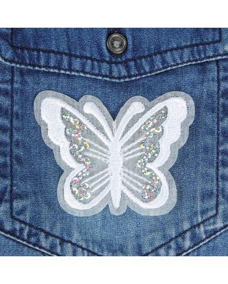 Термоаппликация «Бабочка» р.5х6,5 см арт. СМЛ-4588-1-СМЛ2395486