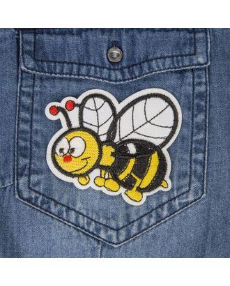 Термоаппликация «Пчелка» р.6,3х7,7 см арт. СМЛ-4591-1-СМЛ2395503