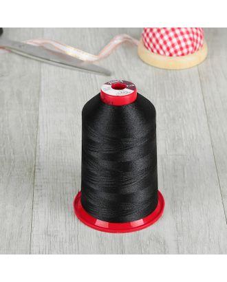 Нитки для вышивания, №130, 5000 м, цвет чёрный арт. СМЛ-4606-1-СМЛ2397620
