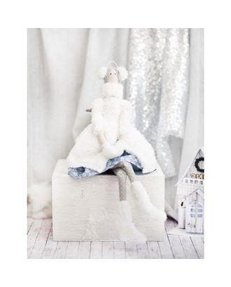 Интерьерная кукла «Снежка», набор для шитья, 18х22х3,6 см арт. СМЛ-37257-1-СМЛ0002406621