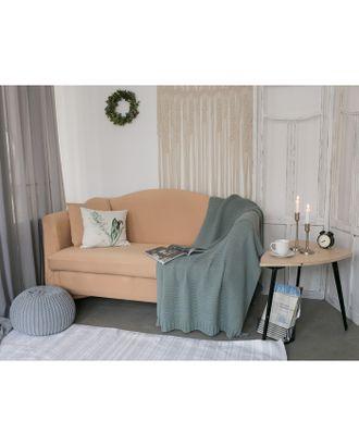 Чехол для мягкой мебели Collorista,2-х местный диван,наволочка 40*40 см в ПОДАРОК,бежевый арт. СМЛ-19830-3-СМЛ2410083