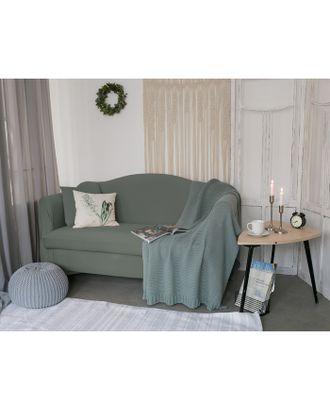 Чехол для мягкой мебели Collorista,3-х местный диван,наволочка 40*40 см в ПОДАРОК,серый арт. СМЛ-19831-2-СМЛ2410084