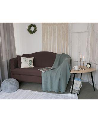 Чехол для мягкой мебели Collorista,4-х местный диван,наволочка 40*40 см в ПОДАРОК,шоколадный 24810 арт. СМЛ-19833-1-СМЛ2410086