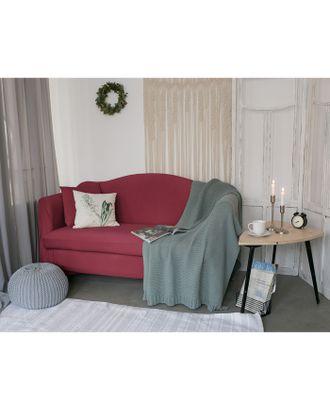 Чехол для мягкой мебели Collorista,4-х местный диван,наволочка 40*40 см в ПОДАРОК,бордовый арт. СМЛ-19834-1-СМЛ2410087