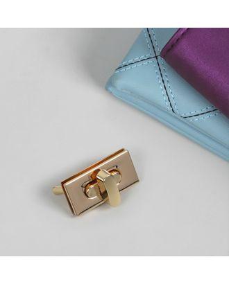 Застёжка для сумки, 3,5 × 1,8 см арт. СМЛ-20989-1-СМЛ2455344