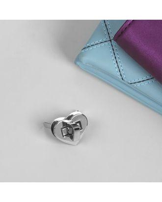 Застёжка для сумки, 2,5 × 2,5 см арт. СМЛ-20985-2-СМЛ2455370