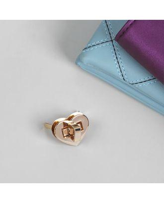 Застёжка для сумки, 2,5 × 2,5 см арт. СМЛ-20985-1-СМЛ2455374