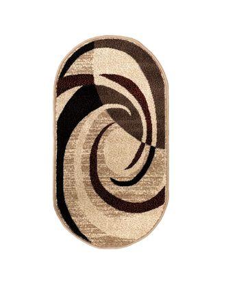 Ковер Кашемир 50118/55 овал, размер 100х200 см, ворс 8мм, 1890 г/м2,100% ПП арт. СМЛ-20504-1-СМЛ2467720