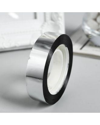 "Клейкая лента пластик ""Серебро"" намотка 25 метров ширина 1,2 см арт. СМЛ-5085-1-СМЛ2494139"