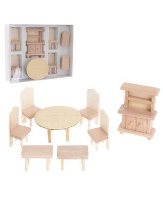 Набор мебели для кукол, МИКС 4 вида арт. СМЛ-5120-1-СМЛ0253290
