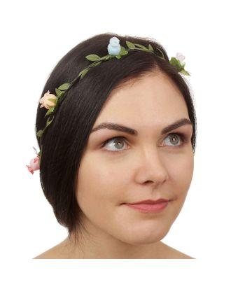 """Декор для волос, вплетаемый """"Цветы"""" арт. СМЛ-5161-1-СМЛ2540839"""