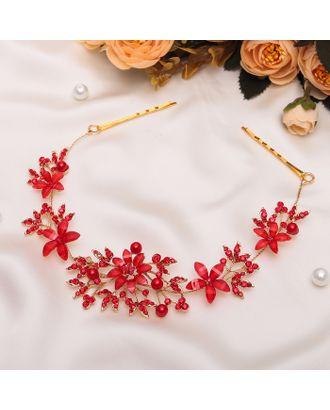 """Аксессуар для волос """"Огненные цветы"""" 25 см арт. СМЛ-120546-1-СМЛ0002555315"""