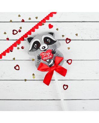 Мягкая игрушка на палочке «Для тебя», енотик арт. СМЛ-120590-1-СМЛ0002728292