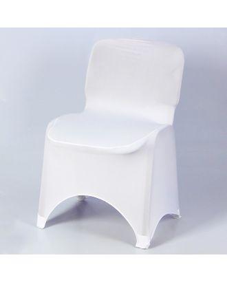 Чехол свадебный на стул, белый арт. СМЛ-5691-1-СМЛ2730275