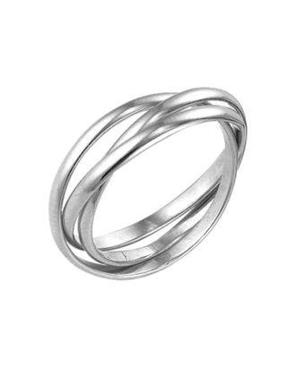 """Кольцо посеребрение """"Три нити"""", 18 размер арт. СМЛ-20935-1-СМЛ2738979"""