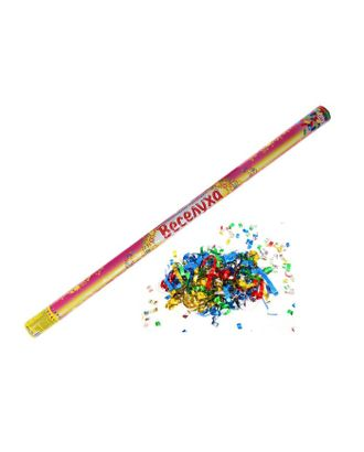 Пневмохлопушка разноцветная, 98 см арт. СМЛ-109785-1-СМЛ0002760367