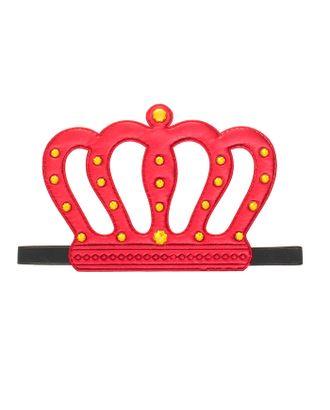Карнавальная корона «Король», на резинке, цвет красный арт. СМЛ-100708-1-СМЛ0002768130