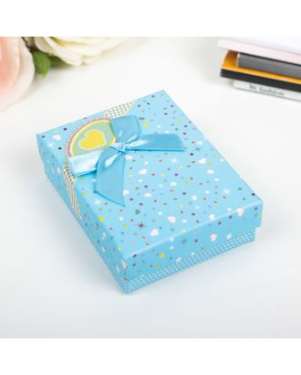 Коробка подарочная 7 х 9 х 2,5 см арт. СМЛ-21106-2-СМЛ2786274