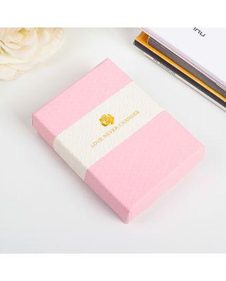 Коробка подарочная 7 х 9 х 2,5 см арт. СМЛ-21103-2-СМЛ2786283